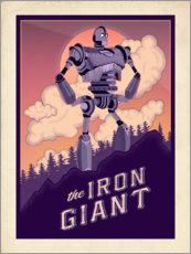 Canvas print  The Iron Giant - The Usher designs