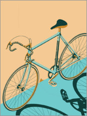 Gallery print  Isometric Bicycle - Wyatt9