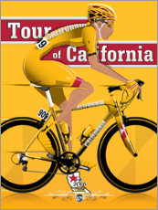 Canvas print  Tour of California Bicycle Race - Wyatt9