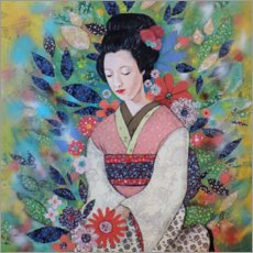 Canvas print  Always maiko square - Sylvie Demers