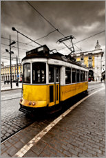 Canvas print  Downtown Lisbon - Jorge Maia