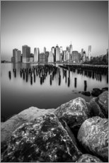 Premium poster New York City Skyline