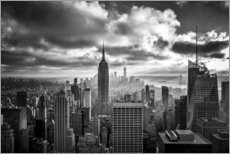 Canvas print  Cloud Game Manhattan - Sören Bartosch