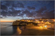 Canvas print  Carvoeiro at the Algarve, Portugal - Gerhard Wild