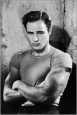 Foam board print  Marlon Brando - Celebrity Collection