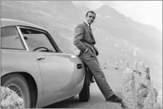 Aluminium print  Sean Connery aka 007 - Celebrity Collection