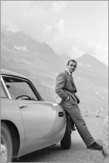 Canvas print  Sean Connery as James Bond - Celebrity Collection