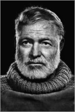 Gallery print  Ernest Hemingway - Celebrity Collection