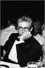 Premium poster  James Dean on the Thalian Ball - Celebrity Collection
