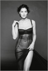 Acrylic print  Monica Bellucci - Celebrity Collection
