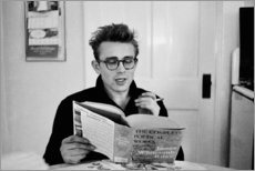 Foam board print  James Dean - Celebrity Collection