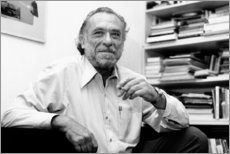 Aluminium print  Charles Bukowski - Celebrity Collection