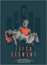 Gallery print  The Fifth Element - Fourteenlab