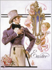 Wall sticker  Easter - Joseph Christian Leyendecker