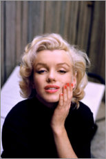 Premium poster  Marilyn Monroe in color - Celebrity Collection