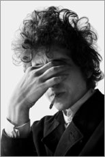 Premium poster  Bob Dylan I - Celebrity Collection