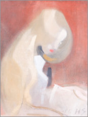 Gallery print  Girl with blond hair - Helene Schjerfbeck