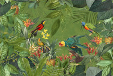 Premium poster Tropical Jungle