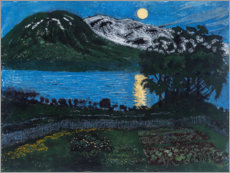 Acrylic print  The moon in May - Nikolai Astrup