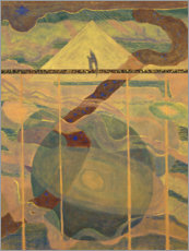 Gallery print  Sonata of the Stars - Mikalojus Ciurlionis