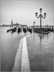 Premium poster  Flooded Venice - Anke Butawitsch