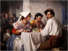 Forex  In a Roman osteria - Carl Bloch