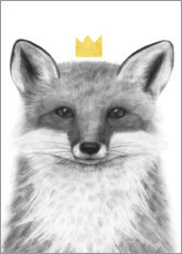Canvas  Royal fox - Victoria Borges