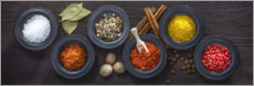 Canvas print  Spices - Uwe Merkel
