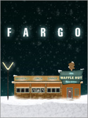 Foam board print  Fargo - The Usher designs