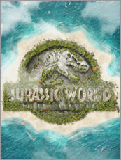 Foam board print  Jurassic World - The Usher designs