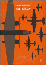 Wood print  No1047 My Catch 22 minimal movie poster - chungkong
