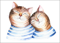 Premium poster  Cat pals - Kidz Collection