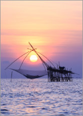 Canvas print  Sunset on the Thai coast
