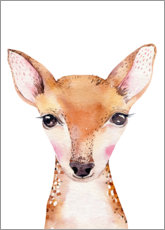 Premium poster  Deer friend - Kidz Collection