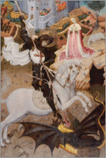 Premium poster  Saint George Killing the Dragon - Bernardo Martorell