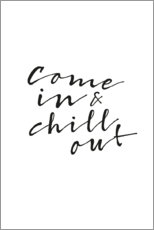 Canvas print  Chill out - Amy and Kurt
