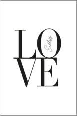 Wall sticker  Endless Love - Amy and Kurt