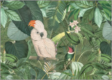 Canvas print  Jungle Friends - Andrea Haase