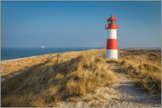 Premium poster Lighthouse List Ost on Sylt, Germany