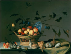 Premium poster Still life with fruit basket