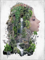 Premium poster  Duality of Nature - Barrett Biggers