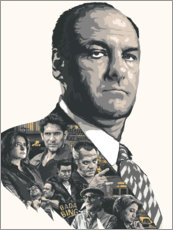 Gallery print  The Sopranos - The Usher designs