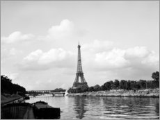 Acrylic print  Eiffel Tower on the Seine
