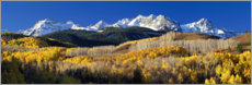 Premium poster Rocky Mountains in the fall