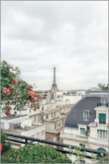 Premium poster Balcony view of Paris