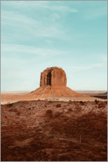 Aluminium print  Monument valley - TBRINK