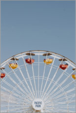 Aluminium print  Ferris wheel in the Pacific Park - TBRINK