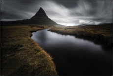 Wall sticker  Kirkjufell in Iceland - Christian Möhrle