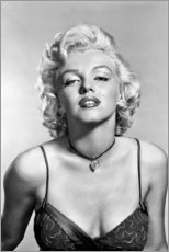 Acrylic print  Marilyn Monroe - sexy portrait - Celebrity Collection
