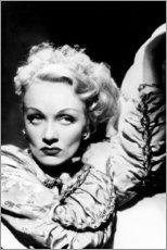 Aluminium print  Marlene Dietrich - Celebrity Collection